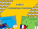 4.NF.2 Comparing Fractions Task Cards