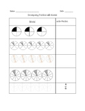 4.NF.3 Decomposing Fractions graphic organizer activities