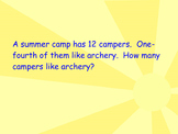 4.NF.3 and 4.NF.4 Practice in Word Problems