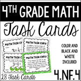 4.NF.4 4th Grade Math Task Cards (Multiplying Fractions by