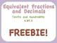 4.NF.5 Freebie!