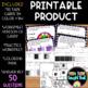 4.NF.6 Decimal Task Cards, Worksheets & Coloring Page!