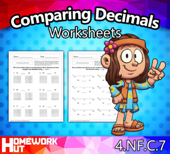 4.NF.7 - Comparing and Ordering Decimals