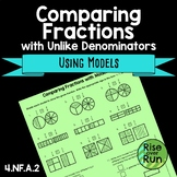 4.NF.A.2 Comparing Fractions with Unlike Denominators Using Models