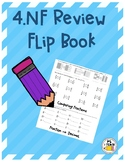 4.NF Flip Book Review (Great resource for PARCC Prep)