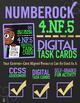 4.NF.5 Task Cards ★ Equivalent Fractions: Tenths & Hundreths ★ Google Classroom