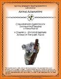 4 NGRE Animal Adaptations - Ch. 3, Shrinking Habitats, Animals on Edge, p22-30