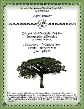 4 NGRE Plant Power - Ch. 3, Products From Plants, The Sky's the Limit, p20-30