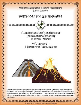 4 NGRE Volcanoes and Earthquakes - Ch. 3, Life on the Edge, p20-30