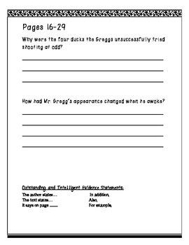 4 Novel Roald Dahl Author Study