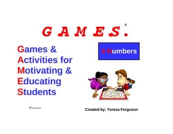 4 Numbers GAMES