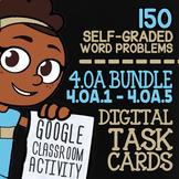 4.OA.1-4.OA.5 Self-Graded Google Classroom Math Activities