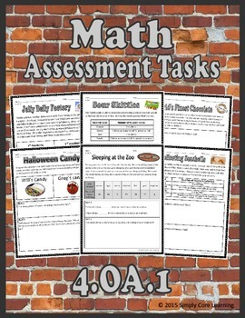4.OA.1 Math Assessment Tasks