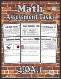 4.OA.1 Math Assessment Tasks