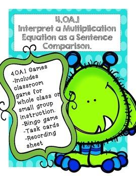 4.OA.1 Fun Learning Games