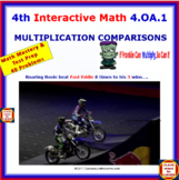 4.OA.1 Math Interactive Test Prep – Multiplicative Comparisons