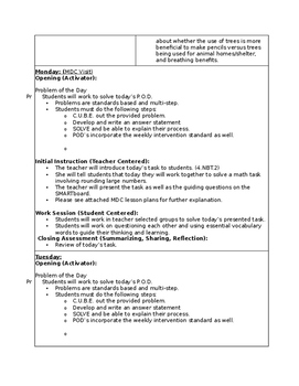 4.OA.2 Lesson Plans - Math - Fourth Grade