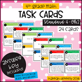4.OA.2 Task Cards ANSWER KEY INCLUDED