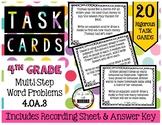 4th Grade | Multi-Step Word Problems 4.OA.3