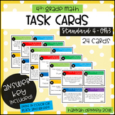 4.OA.3 Task Cards ANSWER KEY INCLUDED