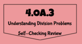 4.OA.3 Understanding Division Problems