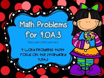 4.OA.3 Word Problems
