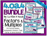 4.OA.4 BUNDLE: Factors & Multiples