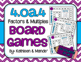 4.OA.4 Game Boards: Factors & Multiples