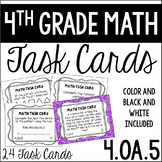 4.OA.5 4th Grade Math Task Cards