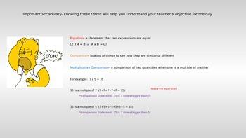 4.OA.A.1- Multiplicative Comparisons