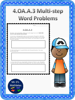 4.OA.A.3 Multi-step Word Problems