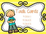 4.OA.A.1, 4.OA.A.2, 4.OA.A.3 TASK CARDS
