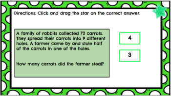 4.OA.A3 Google Classroom Multistep Multiplication and Division Word Problems