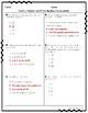 4.OA Assessment Pack for ALL 4th Grade OA Standards- 5 Assessments!