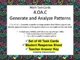 4.OA.C Generate and Anaylyze Patterns