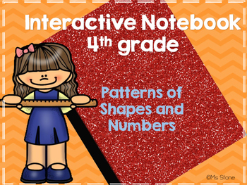 4.OA.C.5 Interactive Notebook Page