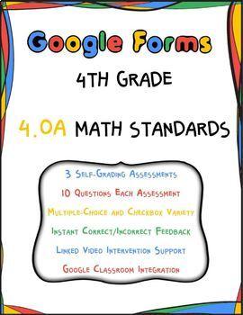 4.OA Google Form Assessments