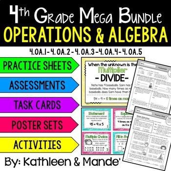 4.OA **MEGA Bundle** Operations & Algebraic Thinking