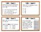 4.OA Test Prep Task Cards {Operations & Algebra 4.OA.1-5}