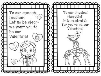 4 Occasion Cards for School Staff Bundle