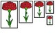 4 Ohio State Symbols themed Size Sequence Preschool Math Learning Games.