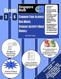 4 Operations Bar Model Student Activity Book Bundle: Intro for 3rd-6th Grade