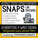 4-PS4-3 Generating a Wave Signal Lab Stations Activity