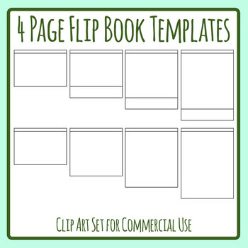 photo regarding Flip Book Template Printable referred to as Blank Flipbook Template Worksheets Coaching Supplies TpT