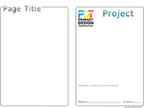 4 Page Project Booklet