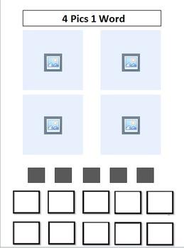 4 Pics 1 Word - Digital