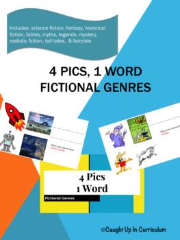 4 Pics, 1 Word Fictional Genres