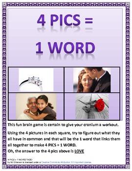4 Pics = 1 word