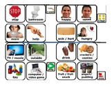 4 Picture, 4 Page Mini AAC Communication Book with Photographs