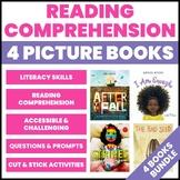 4 More Picture Book Companions: Literacy Graphic Organizer